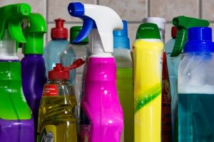 harmful chemicals in spray cleaners