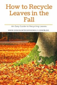 How to Recycle Leaves in the Fall - Compost, Mulch, and Flower Pots