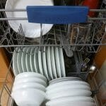 a full dishwasher