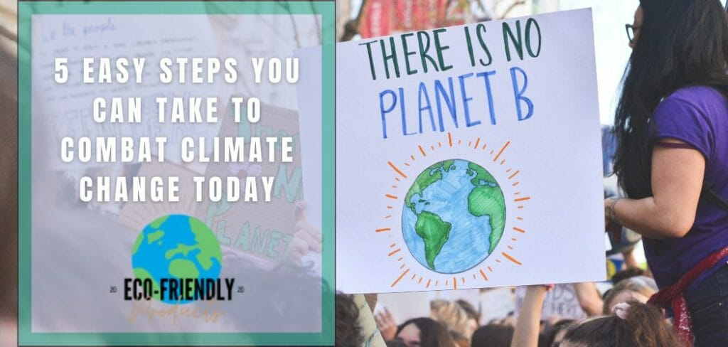 how you can help combat climate change