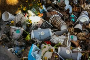 Single use plastics and papers should be replaced with reusable options